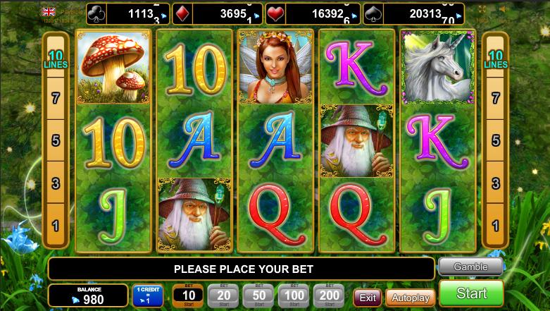 Fortune Spells Slot Machine