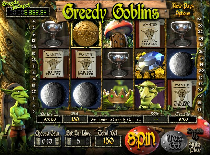 Greedy Goblins Slot Machine