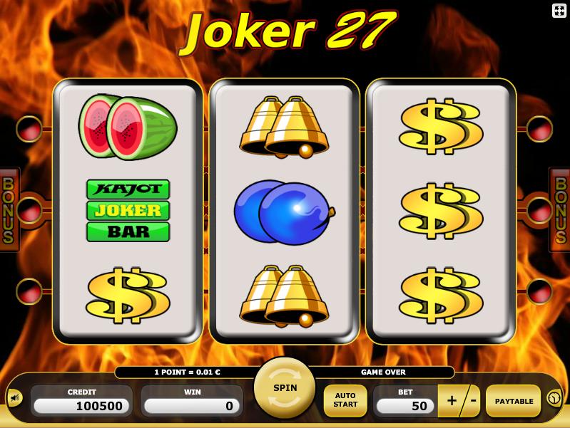 online slot machines joker online