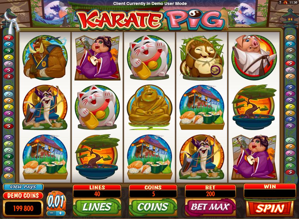 Karate Pig Online Slot for Real Money - Rizk Casino