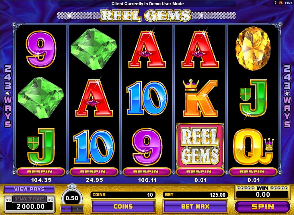 Reel Gems Slot Online