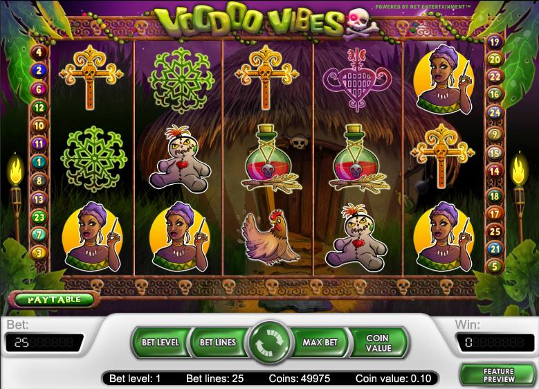 Voodoo Vibes Slot Machine Online ᐈ NetEnt™ Casino Slots
