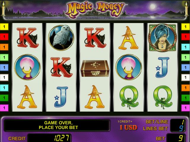 Online Magic Money Slot Info