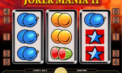 Joker Mania II Online Slot