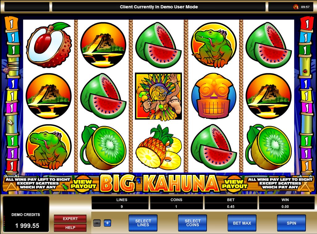 the big kahuna online