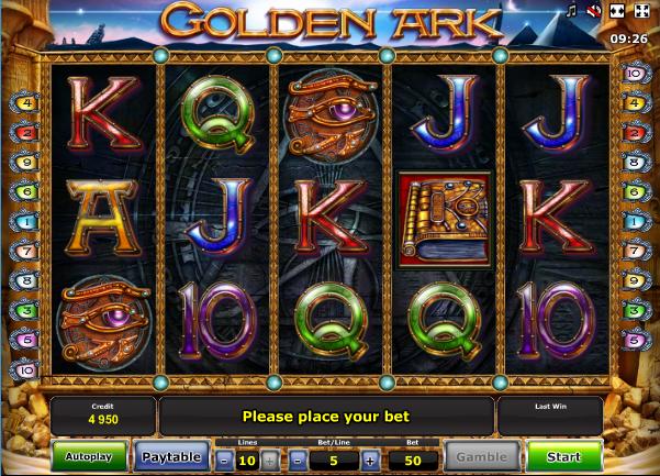 golden online casino ark online