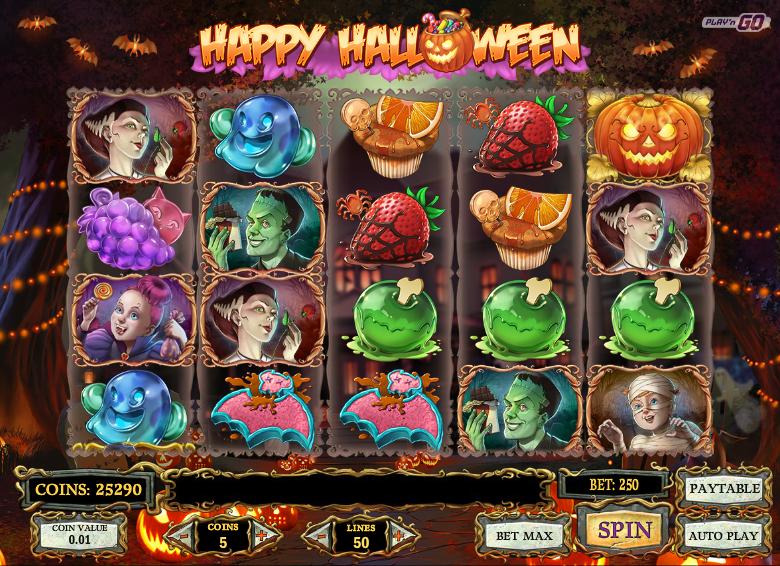 Happy Halloween Slot Machine