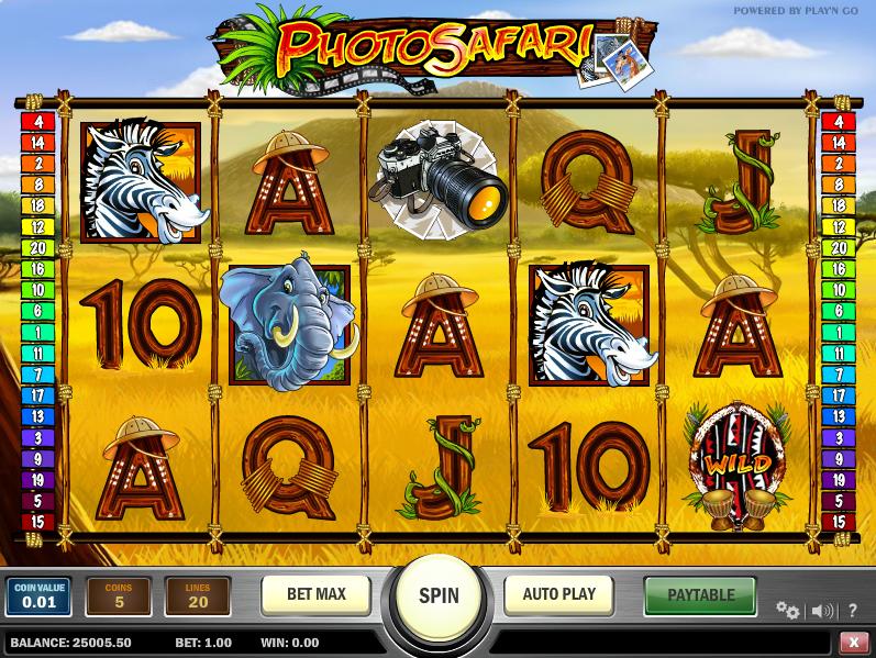 Slot Games Safari