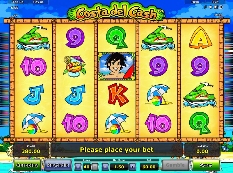 Costa del Cash Slot Machine Online ᐈ Novomatic™ Casino Slots