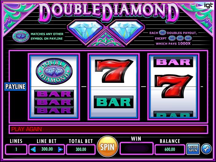 Diamond & Fruits Slot Machine