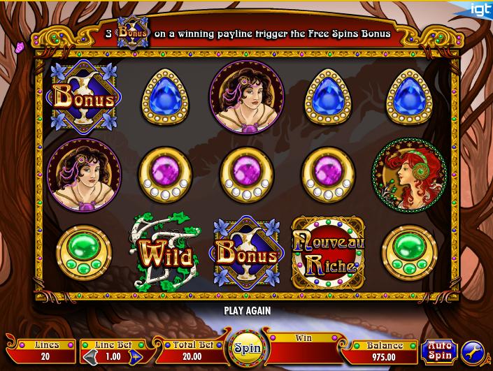 Nouveau Riche Slot Machine