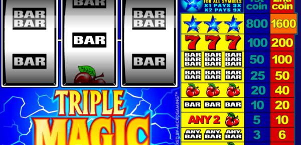 Slot Triple Magic Online for Free