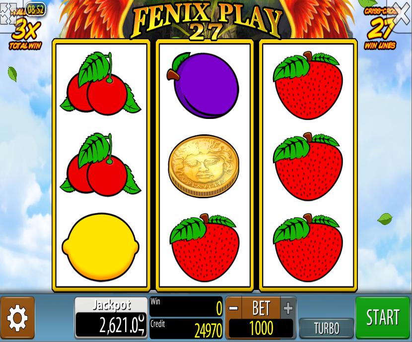 Fenix Play 27 Slot Machine