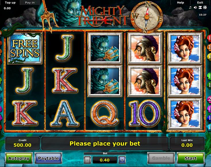 Mighty Trident Slot Machine Online ᐈ Novomatic™ Casino Slots