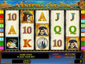 online venetian carnival slot