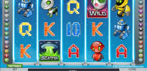Online Alien Robots Slot
