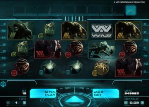 online aliens slot