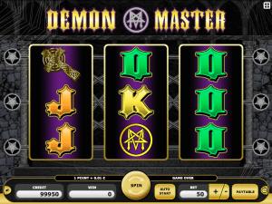 Online Demon Master Slot Machine