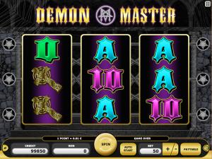 demon master online kajot slot