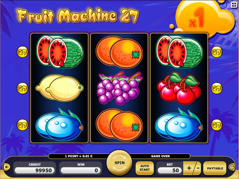 Fruit machines online
