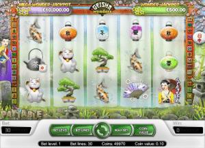 online slot geisha wonders