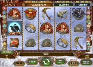 Online Slot Hall of gods