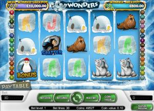 online icy wonders slot machine