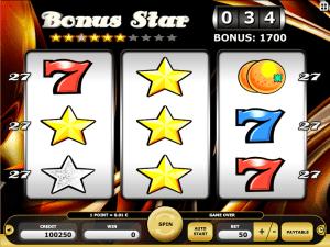 kajot online slot machine bonus star