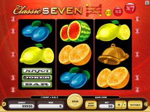 Classic Seven Online Slot Machine
