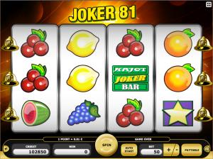 Joker 81 Kajot Online Slot