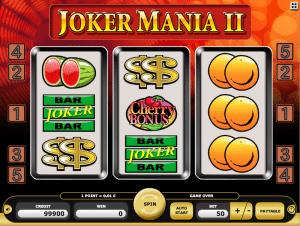 Joker Mania II Online Slot Machine