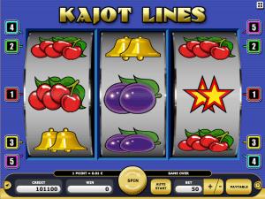 Kajot Lines Online Slot