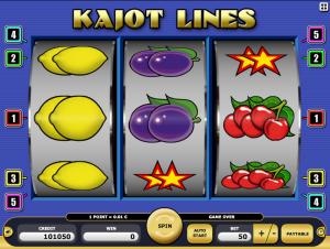 Online Kajot Lines Slot