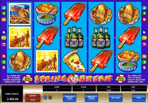 spring break online slot machines