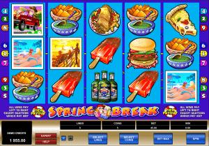 Online slot spring break
