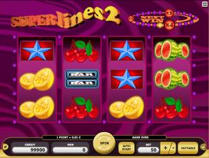 Online kajot slot superlines 2
