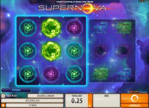 supernova online slot game