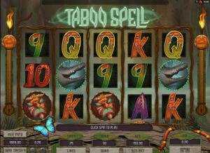 online taboo spell slot machine