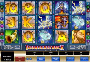 online slot thunderstruck II