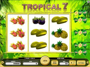 Online Slot Tropical 7