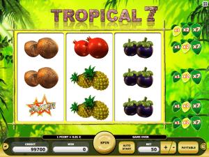 tropical 7 online slot machine