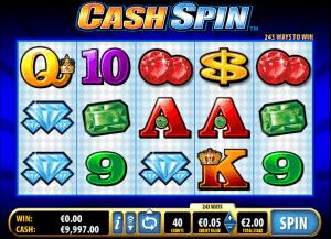 Online Slot Cash Spin