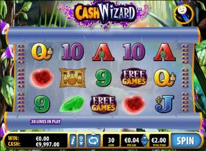 online slot Cash wizard