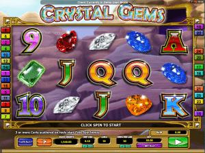 Crystal Gems Online Slot