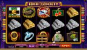 High Society Online Slots