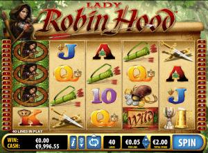lady robin hood online slot