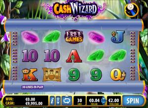 Cash Wizard Online Slot Machine