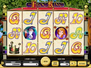 Frog King Online Slot