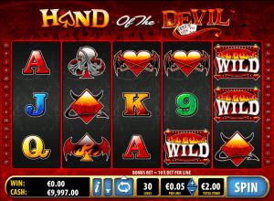 Hand of the Devil Online Slot