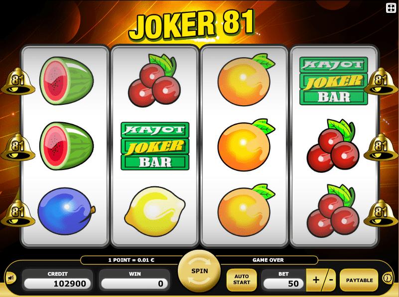 online slot machine jokers online